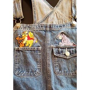 Vintage Pooh overalls!